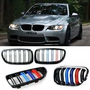 BMW E90, E91 M Performance grill njurar med dubbelribb