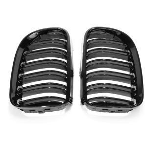 BMW E92 E93 grill njurar i glansigt svart för 3 serien