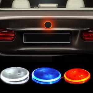 BMW logo emblem röd LED lampor 82 mm