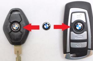 BMW logo emblem / märke till bilnyckeln 2st