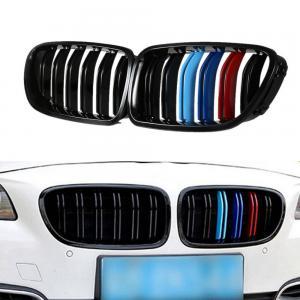 BMW F10 F11 M färger njurar grill med dubbelribb