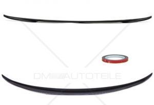 BMW F10 vinge läpp till bagageluckan i blankt svart