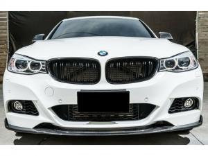 BMW F34 GT svarta njurar grill dubbelribb