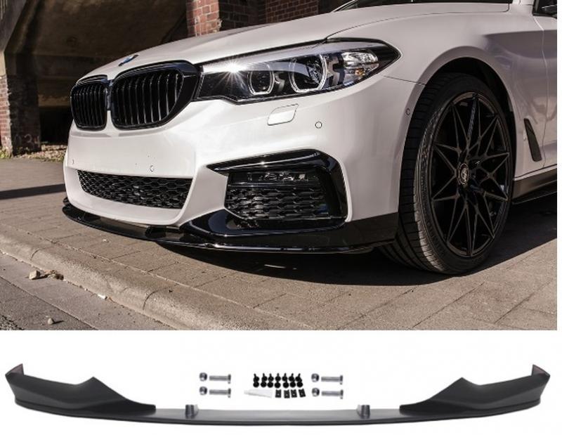 BMW 5serie G30, G31 M Performance front läpp