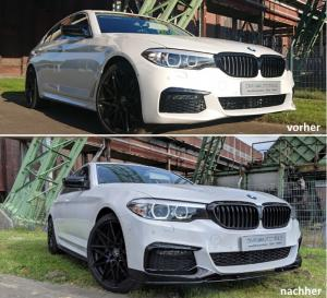 BMW 5 serie G30, G31 M Performance front läpp