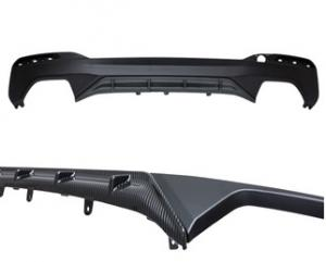 BMW G30, G31, 5 serie M performance diffuser i kolfiber