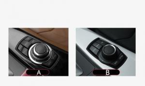 BMW multimedia idrive knapp / skal med M logo