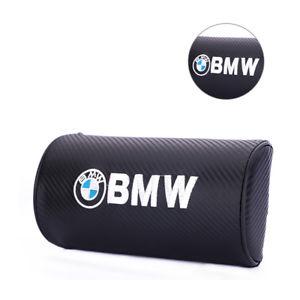 BMW svart carbon kuddar 2 st nackkuddar till bilen