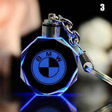 BMW LED kristall nyckelring med alla färger