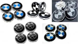 BMW centrumkåpor navkåpor i flera färger. 4-pack
