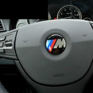 BMW M logo rattemblem 45 mm emblem till ratt