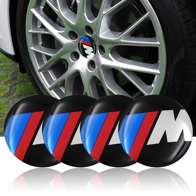 BMW M logo hjulnav emblem till fälgarna (56 mm)