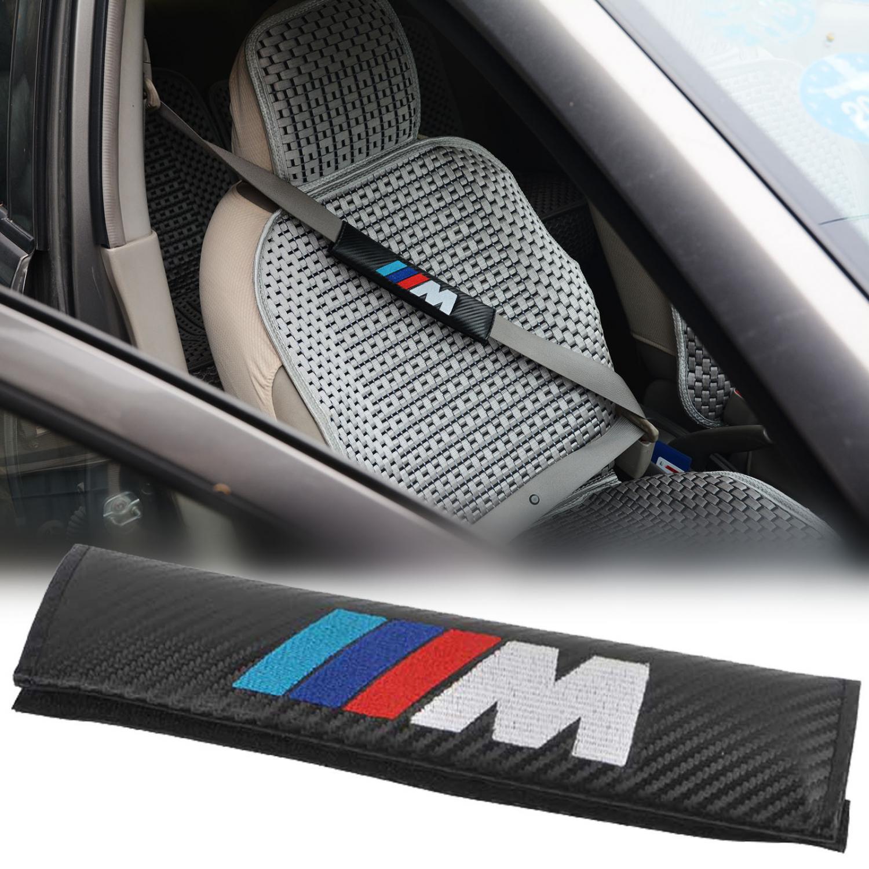 BMW och M logo bälteskuddar kuddar i kolfiber look 39a36a914fdcb