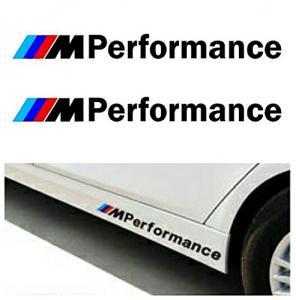 BMW M Performance dekaler till spoiler (2st)