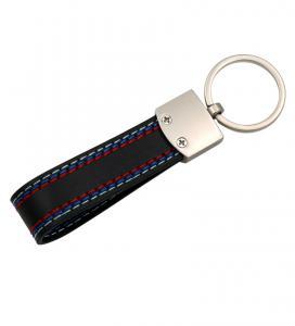BMW M Tech nyckelring / nyckelhänge i läder