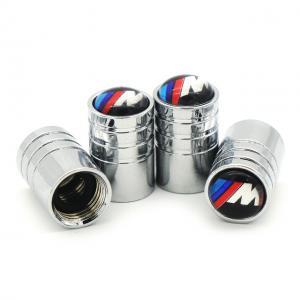 BMW M logo ventilhattar till bilen finns i svart och silver