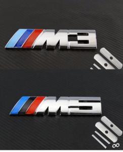 BMW M3, M5 emblem till grillen. Grill-emblem