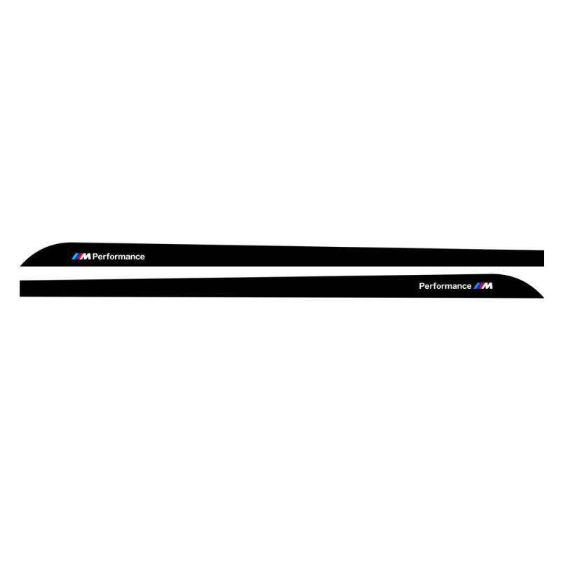 BMW M performance kolfiber spoiler-dekal 5D