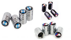 BMW logo ventilhattar ventillock 3 modeller 4-pack