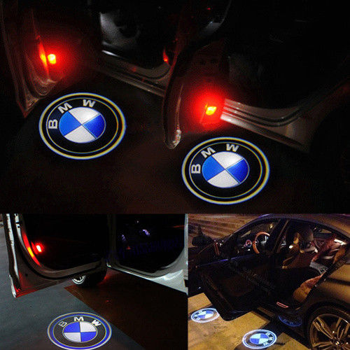 BMW logo dörrbelysning dörrlampor LED logo dörr