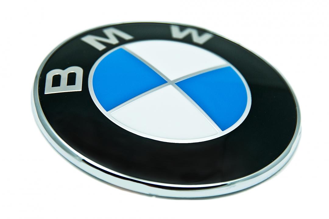 Bmw Logo Emblem Till Bilen Original Oem 73 78 82 Mm Emblem