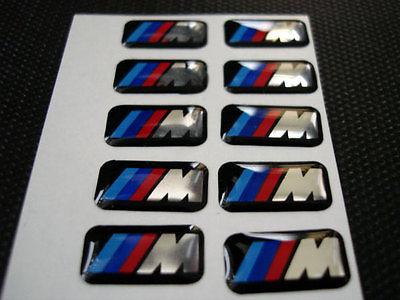 BMW M Tech 5 pack emblem till fälg och ratten  (17 mm)