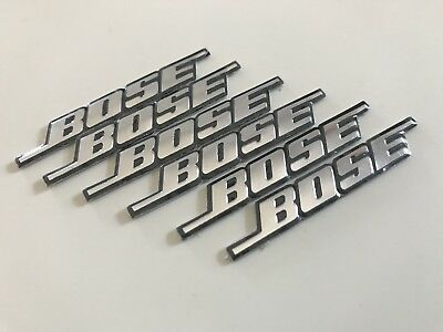 Bose logo emblem till bilens högtalare. 2 pack