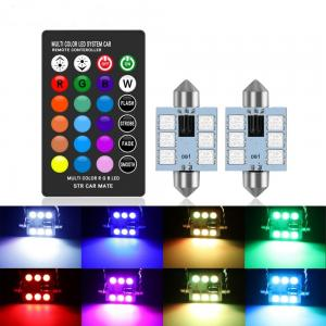 C5W interbelysning till bilen RGB alla färger