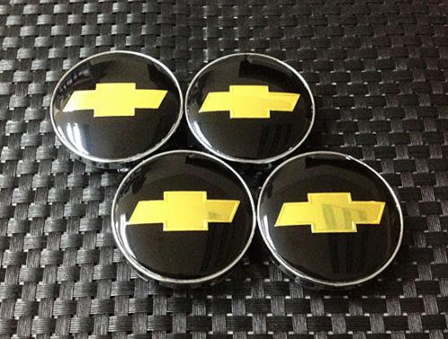 Chevrolet logo centrumkåpor till fälgarna 60 mm