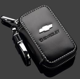 Chevrolet logo nyckel etui fodral till bilnyckel