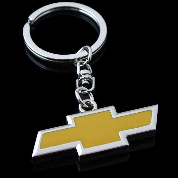 Chevrolet logo original bilmärke nyckelring