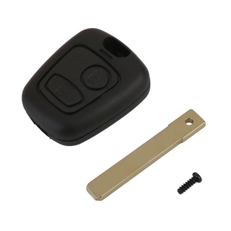 Citröen nyckelskal larmdosa med oslipad nyckel