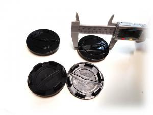 Chrysler centrumkåpor i svart till fälgarna 64 mm