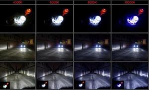 D1R halvljus xenon ljus till bilen i vit 6000K 2-pack