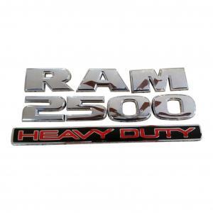 DODGE RAM 2500 emblem i svart och silver