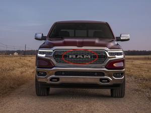 Dodge RAM emblem till grillen truck emblem