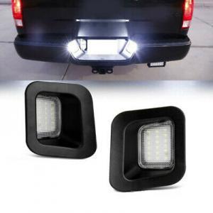 Skyltbelysning LED till Dodge ram 2003 till 2018