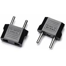 Rese adapter 2-pack USA China till EU kontakt