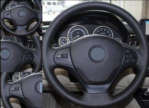 BMW F20 F30 F31 F32 3 serie ratt läder till ratten