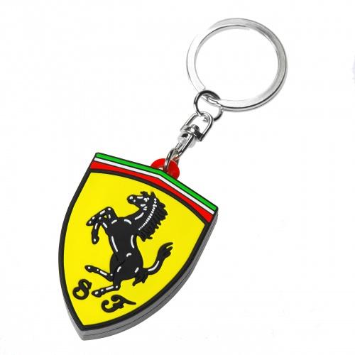 Lyxigt Ferrari nyckelring nyckelhänge
