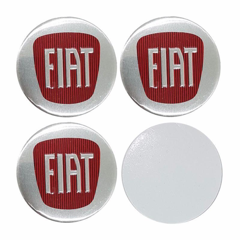 Fiat hjulnav emblem fälgemblem 56, 65 mm