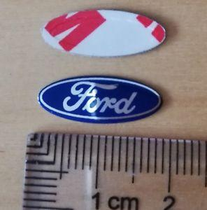 Ford logo emblem till bilnycklarna 2 st