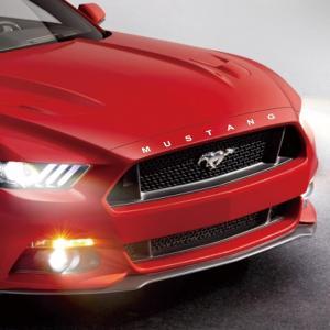 Ford Mustang logo sticker dekaler till motorhuv