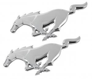 Ford Mustang pony emblem skärmar 2-pack