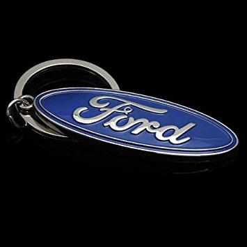 Ford nyckelring blå nyckelhänge original