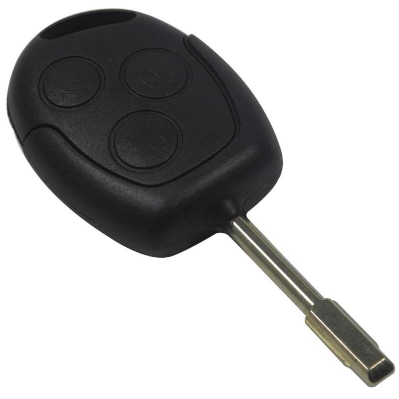 Ford nyckel för Focus Fiesta mondeo med 3 knappar