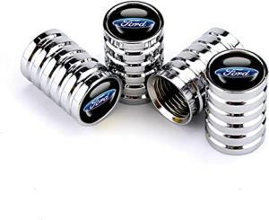 Ford logo ventilhattar ventillock till bilen 4-pack