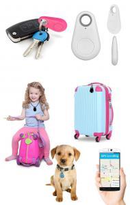 Mini iTag bluetooth GPS tracker sändare för barn, djur