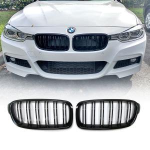 BMW F30, F31, F35 svart grill njurar dubbelribb