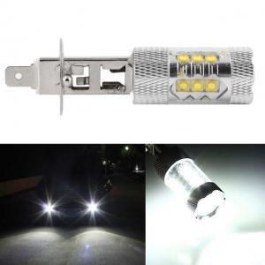 H1 diodlampa Xenonvit LED lampa 60 Watt lampor